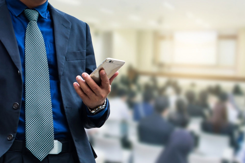 Tracking attendance at seminar using smart phone